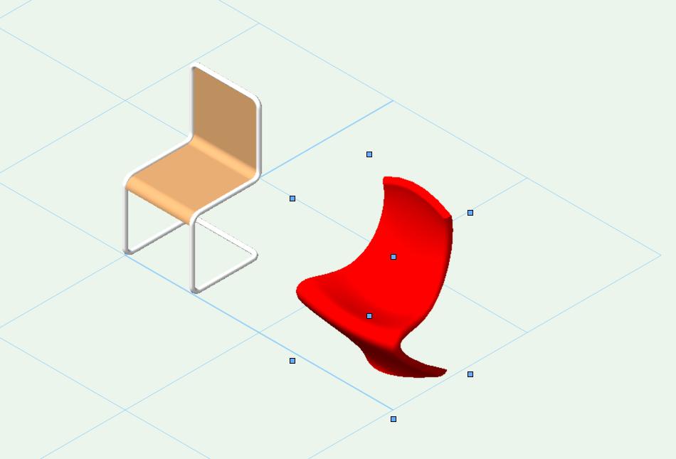 Muebles en Vectorworks