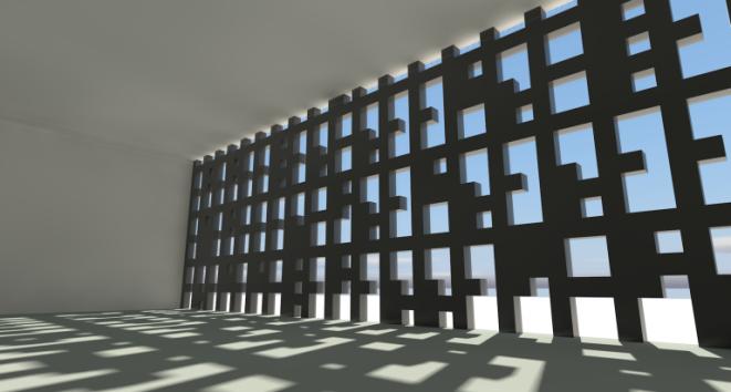 Modificando una fachada con un script.
