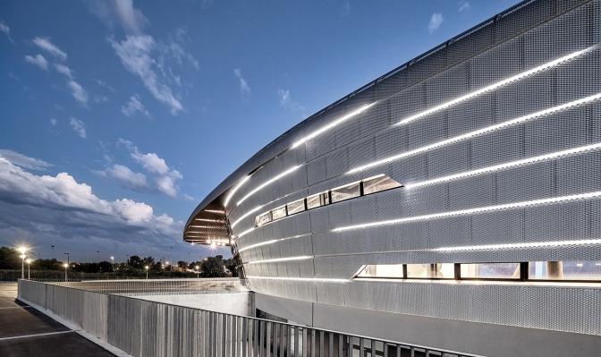 La Azur Arena o como usar #Vectorworks para hacer BIM